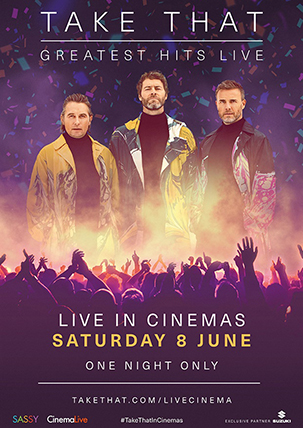 TAKE THAT - GREATEST HITS (LIVE)