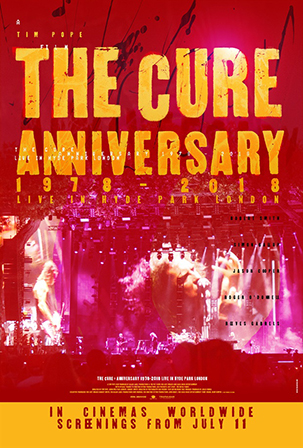 THE CURE ANNIVERSARY LIVE IN HYDE PARK