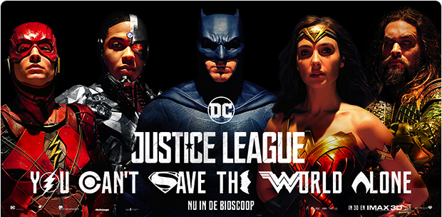 Justice League winactie