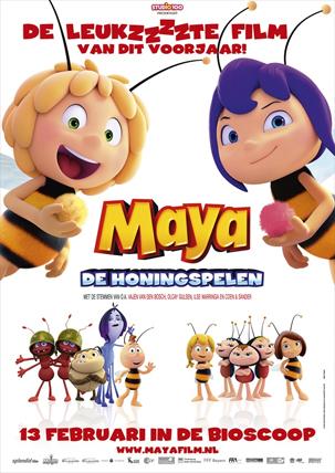 Maya de Bij: De Honingspelen