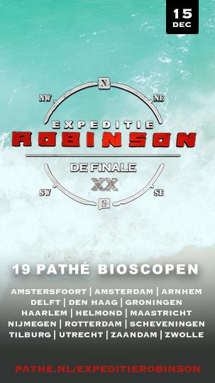 De finale van Expeditie Robinson zie je bij Pathé!