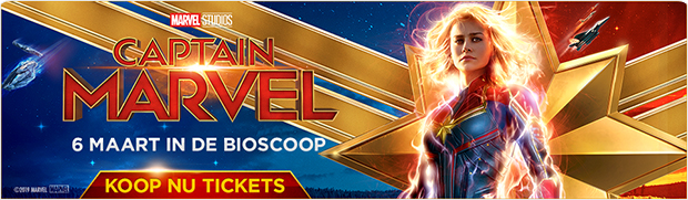 Ticketverkoop voor Captain Marvel is gestart!