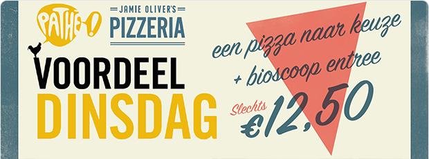Elke dinsdag pizza & filmavond in Tilburg!