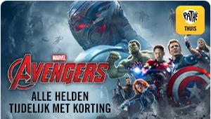 Avengers bij Pathé Thuis