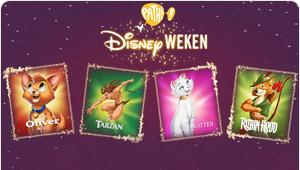 September = Pathé Disneyweken