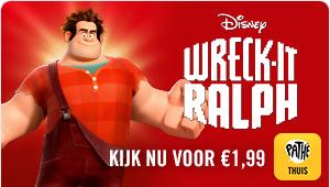 Wreck-it Ralph bij Pathé Thuis