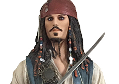 Jack Sparrow in de bios