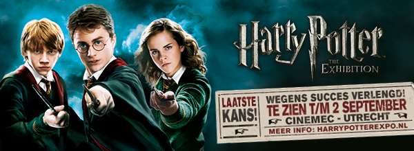 HARRY POTTER™: THE EXHIBITION VERLENGD!