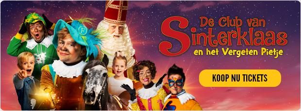 De Club van Sinterklaas en het Vergeten Pietje zie je nu bij Pathé!